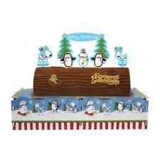 JOYFUL SNOWMAN CHRISTMAS CAKE KIT X15 PIECES
