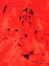 Miro - The Shrew. - Original Lithograph - 1956 - Special $ 100 !