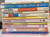 ENID BLYTON Bulk Lot 12 Paperback Books 1970's - 1990's