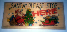 Christmas Handmade Custom Made Decorative Plaques & Signs