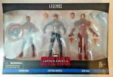 Marvel Legends Civil War 3-Pack New!!!