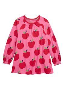 NWT Mini Boden Apple Printed Pockets Tunic Dress 11-12Y