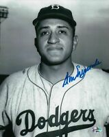 Don Newcombe Signed 8X10 Photo Autograph Dodgers Head Shot B/W Auto COA