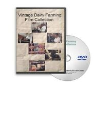 Vintage Dairy Farming Milk Production Operation Film Collection DVD - A651