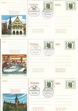 Die letzten Bildpostkarten der DDR mit Ersttagsstempel und postfrisch.  TOPPP!!!
