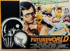 fotobusta lobby card Futureworld - 2000 anni nel futuro Richard fonda SCI-FI