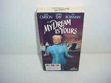 My Dream Is Yours VHS Video Tape Movie Jack Carson Doris Day