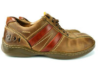 GBX Mens Sneakers Casual Shoes Brown Leather Lace Up Oxford Shoes Size 10 M