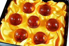 7 Dragon Balls Z 45mm Acrylic Star Anime DragonBalls Cosplay Set with Gift Box
