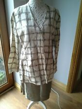 Jacket and skirt size 16 by Nic Janik
