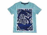 NWT Boy's Gymboree Mix n' Match shark short sleeve shirt ~ 6 12 18 24 months 3T
