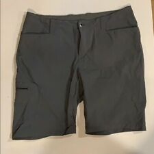 Patagonia Athletic Hiking Board Bermuda Shorts Grey Gray Women's 10