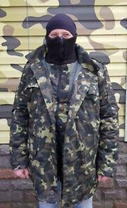 USSR Russian Ukraine Military Winter Camo Jacket Uniform BUTAN DUBOK SIZE 52