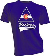 Colorado Rockies Defunct Nhl Hockey Tee T Shirt New handmade team Sports Ice New