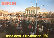 Berliner Mauer Berlin Wall Brandenburger Tor Mauerfall 9. November fall of wall