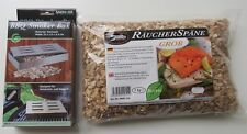 SÄNGER SPARSET Profi BBQ Smoker Box + Räucherspäne Buche grob 1kg