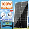 100W Panneau solaire 30A 12V/24V AUTO LCD PWM Régulateur Charge Contrôleur