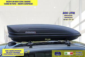 Box Baule Tetto Auto Bmw X1 2009> Barre portatutto portapacchi bagagli kit per