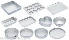 Kitchen Craft Silver Anodised Heavy Duty Professional Bakeware