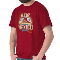 New Mexico Desert Peaks NM State Map Vacation Souvenir Classic T Shirt Tee
