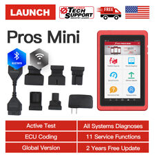 LAUNCH X431 PROS MINI Bluetooth ScanPad Car Diagnostic Tool OBD2 Scanner as V+ V