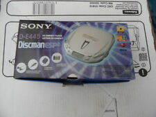 Sony De-445 CD Player Discman Esp2 AVLS Remote Charger