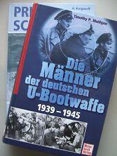 2 Bücher Männer der deutschen U-Bootwaffe + Prien gegen Scapa Flow U-Boote