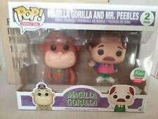 Funko Pop! Magilla Gorilla and Mr Peebles. Limitd to 3000. Neon