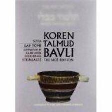 Koren Talmud Bavli No?, Vol. 20 : Hebrew/English, Standard Size Color Edition...