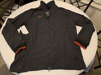 NWT Nike Men's LARGE Therma Midweight Jacket Team Black CI4472 014 NEW