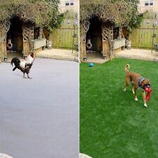 10.5ft Artificial Grass Synthetic Mat Landscape Fake Lawn Pet Dog Turf Garden