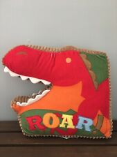 Circo Target Roar n' Stomp Collection Dinosaur Throw Accent Pillow Plush Bedding