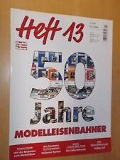 Modell Eisenbahner - Heft 13 - 50 Jahre Modelleisenbahner