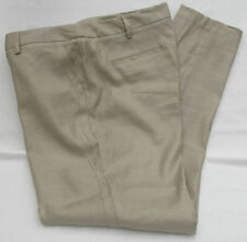 Marks and Spencer Linen Tapered Mid Rise Trousers for Women