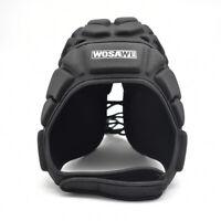 Soccer Football Goalkeeper Helmet Rugby Scrum Cap HeadGuard Roller Hat Protector