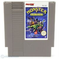 Nintendo NES Spiel - Monster in my Pocket PAL-B Modul mit Anl.
