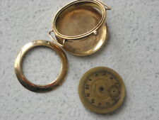 LONGINES EFCO - CASE SOLID GOLD 14kT YEARS 1916 - WITH DIAL - CALIBER 11.84N