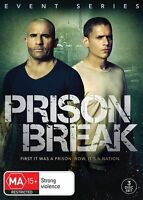 Prison Break : Event Series (DVD, 3-Disc Set) NEW