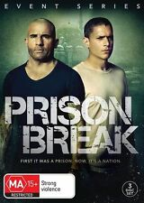 Prison Break Event Series DVD NEW Region 4 Wentworth Miller