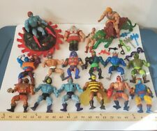 vintage Masters of the Universe Action Figure Lot ,classic 80's He-man Toys motu