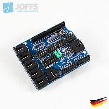 Arduino UNO MEGA Duemilanove Sensor Shield V4.0 Analog Modul Servo Motor