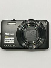 Nikon COOLPIX S7000 16.0MP Digital Camera - Black With Case