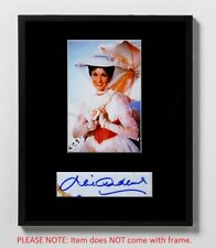 Julie Andrews Matted Autograph & Photo! Sound of Music! Mary Poppins! Von Trapp!