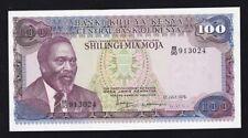 KENYA ------ 100  SHILLINGS  1978 ------ UNC -----