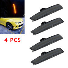 4PCS Car Smoked LED Light Side Front&Rear Sets Parts For 2016-2018 Chevy Amazing