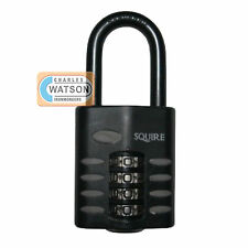 Squire CP1/CP50/2.5 All Weather Lock Security Combination Padlock Long Shackle