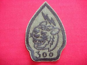 Vietnam War Hand Made Subdued Patch ARVN Co 300 Civilian Irregular Defense Group