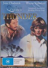 QUIET THUNDER - JUNE CHADWICK - WAYNE CRAWFORD - DVD - NEW -