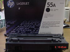 Genuine HP 55A Laser Toner Cartridges CE255A, USED.
