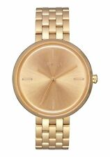 **BRAND NEW** NIXON WATCH THE VIX ALL GOLD A1171502 NEW IN BOX!